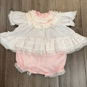 Vintage   dress and bloomers
